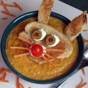 Фотографии детских блюд