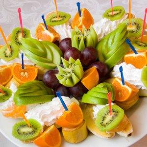 Как нарезать фрукты в домашних условиях 725