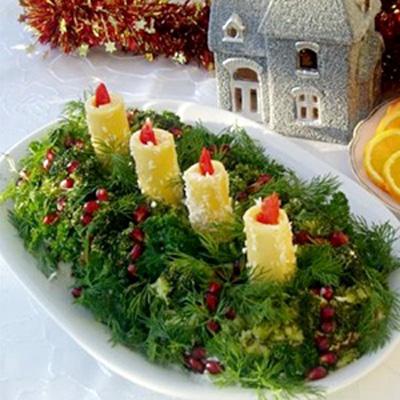 Праздничные постные салатыы с фото